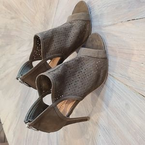 Christian Siriano for Payless olive green heels